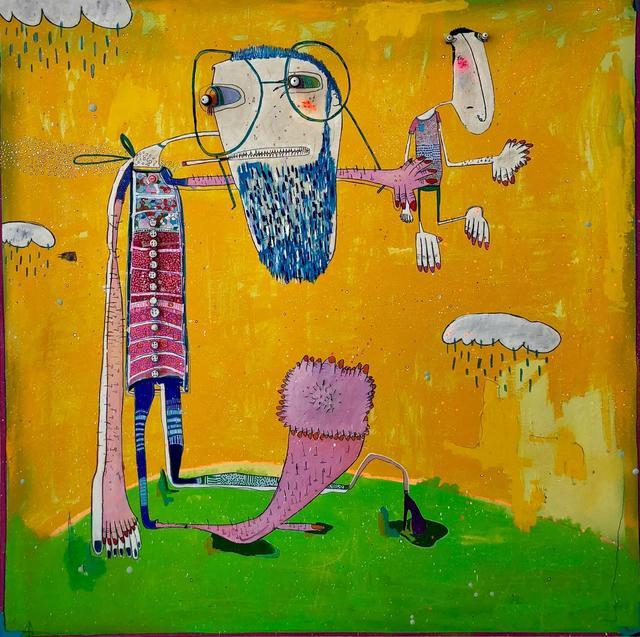, 'Él,' 2018, Galeria Casa Cuadrada