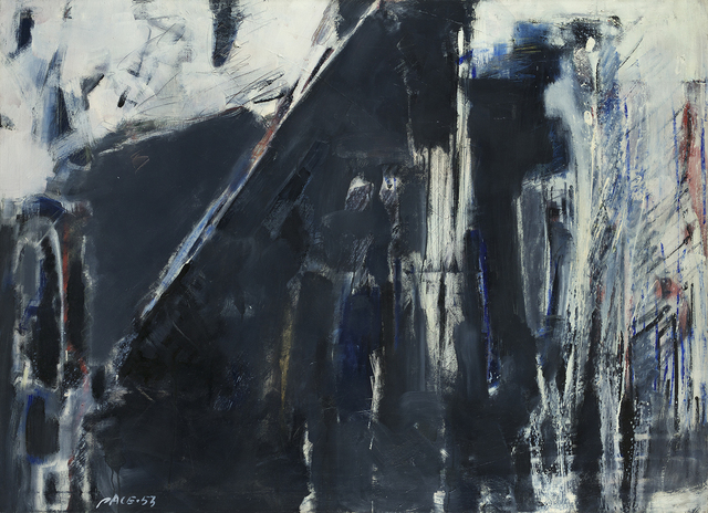 , 'Untitled (53-5),' 1953, Berry Campbell Gallery