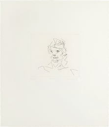 Frank Auerbach, 'Julia, from Six Etchings of Heads,' 1980-1981, Phillips: Evening and Day Editions