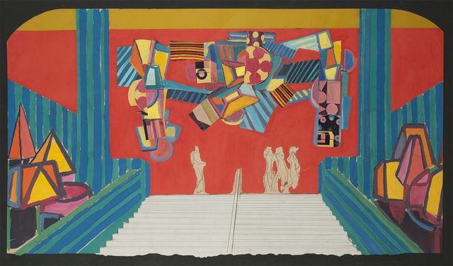 , 'Carnival study, Theatro Municipal do Rio de Janeiro,' 1960, The Jewish Museum
