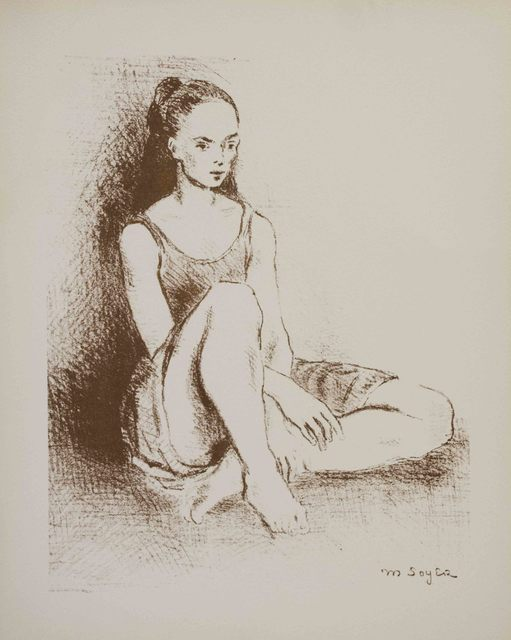 Moses Soyer, 'Ballet Dancer', 1968, The Munn Collection
