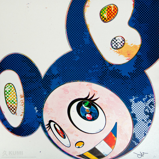 Takashi Murakami, 'And Then x6 Marine Blue', 2013, Kumi Contemporary / Verso Contemporary