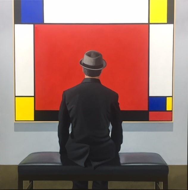 , 'Mondrian Red #3,' 2017, CODA Gallery