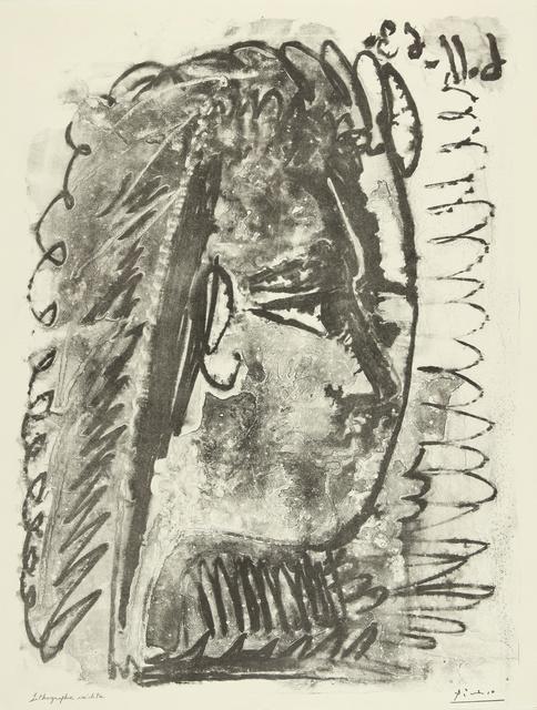 Pablo Picasso, 'Profil de femme regardant à droite (M. 391)', 1963, Sotheby's