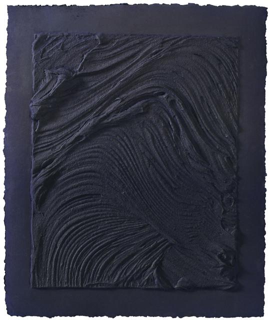 , ' Untitled (Plate V),' 2010, Mixografia