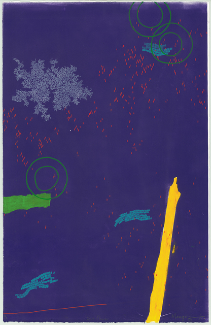 , 'Sun Flower,' 2017, Guns and Rain