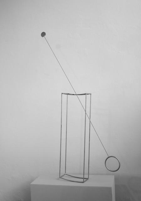 Claudio Alvarez, 'Paralelo Temporário', 2015, Mixed Media, Aço Inox, Luciana Caravello Arte Contemporânea