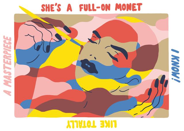 , 'Full-on Monet,' 2016, Ninasagt