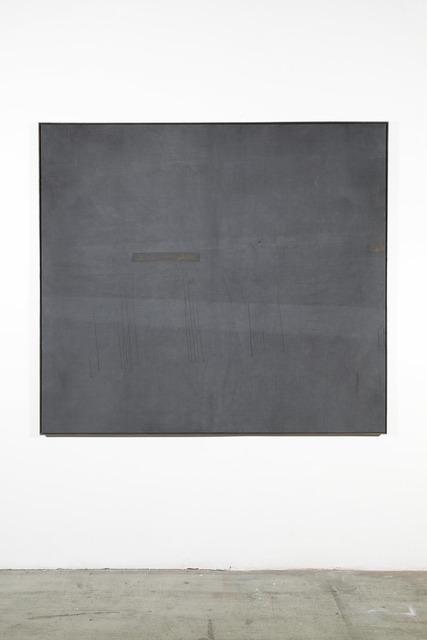 Anneliese Schrenk, 'Ausstoßhaut (große graue Malerei)', 2017, Mario Mauroner Contemporary Art Salzburg-Vienna