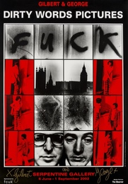 Dirty Word Pictures; Urethra Postcard Art, three posters for