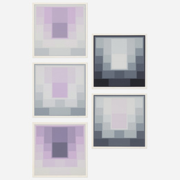 Untitled (five works)