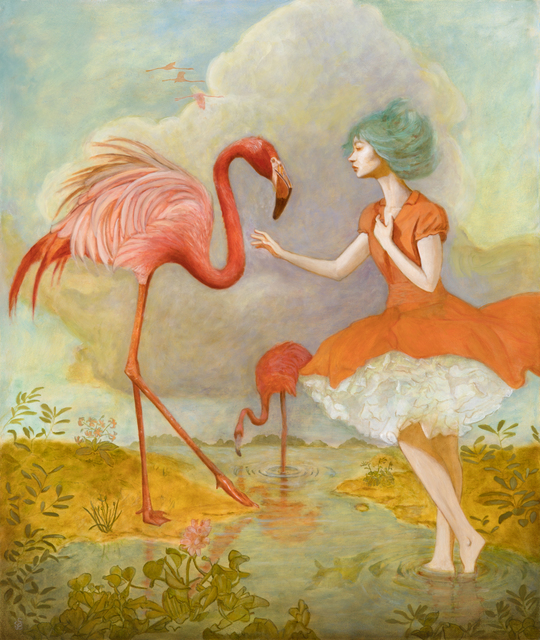 Deirdre Sullivan-Beeman, 'Flamingo Girl', 2019, Phylogeny Contemporary