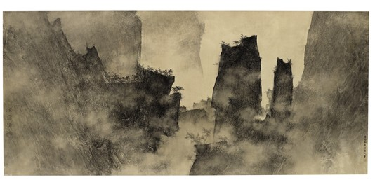 Li Huayi, 'Clear View of the Mountains,' 2011, Christie's South Asian + Chinese