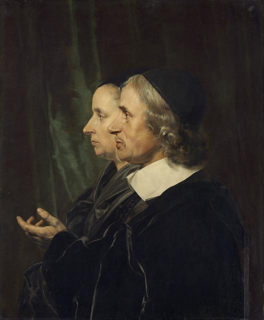 Jan de Bray, 'Portrait of the Artist's Parents, Salomon de Bray and Anna Westerbaen,' 1664, National Gallery of Art, Washington, D.C.