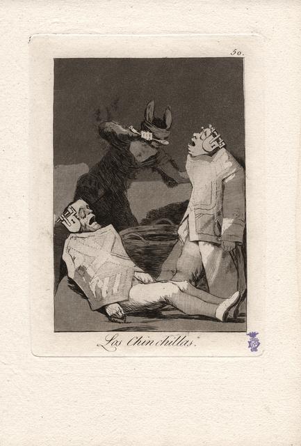, 'Los Chinchillas. (The Chinchillas.),' 1796-1797, Seattle Art Museum