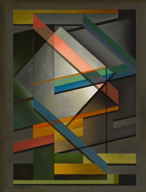 , 'Composizione 303 B,' ca. 1950, Matteo Lampertico