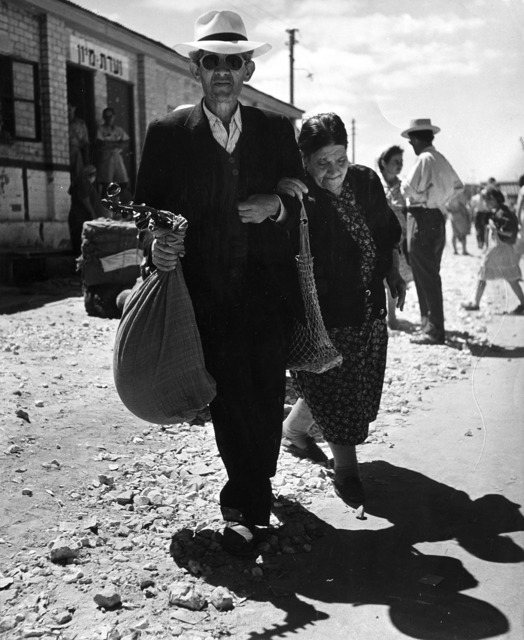 Robert Capa, 'Israel, couple of new immigrants', 1948-1950, Il Ponte