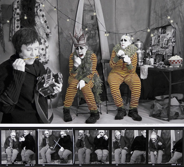 , 'Diane Arbus Photographing the Dopplegager Twins,' 2011, Walker Fine Art