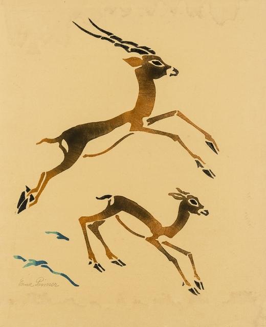 Erna Pinner, 'Antelopes', circa 1935, Forum Auctions