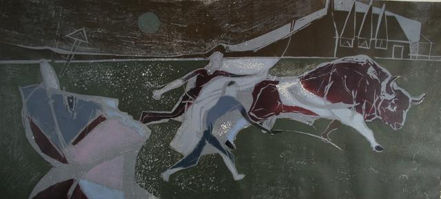 , 'The Bull,' 1956, Gwen Hughes Modern British Art