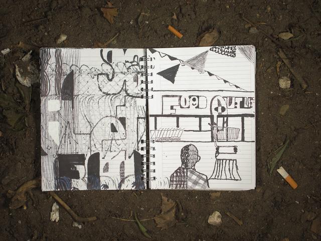 , 'The House on Weirdfield Street, Notebook 2,' 2015, Zürcher, New York | Paris