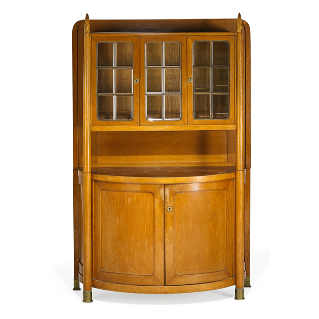 Attributed to Josef Hoffmann, 'Vitrine, Austria', ca. 1906, Rago