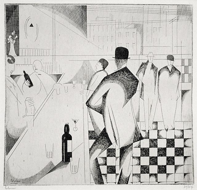 , 'Bar en Pennsylvanie,' 1914, Harris Schrank Fine Prints