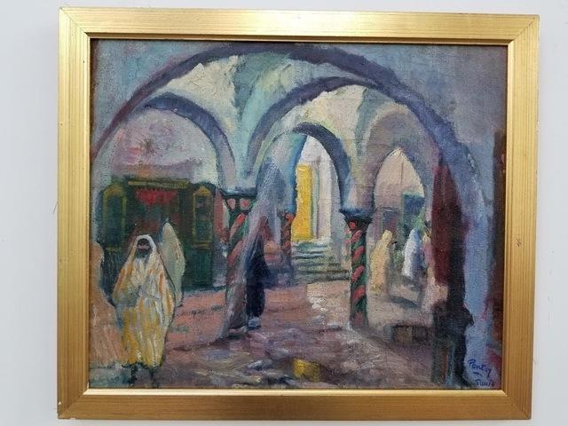 Henry Pontoy, 'Tunis', 1938, Tranter-Sinni Gallery