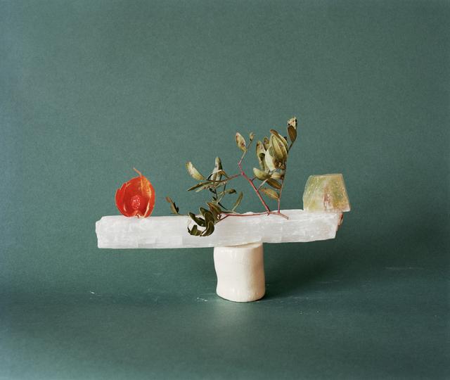 , 'Earth cherry, olive, moonstone,' 2018, PARISIAN LAUNDRY