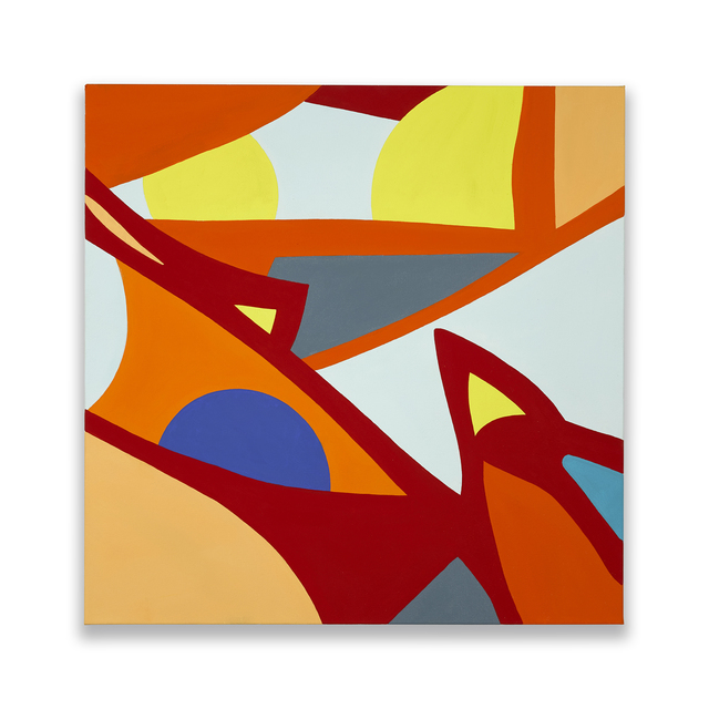 , 'Orange Overtone,' 2017, Chesterfield Gallery