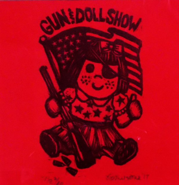 , 'Gun & Dolls, Red,' , Sparrow Gallery