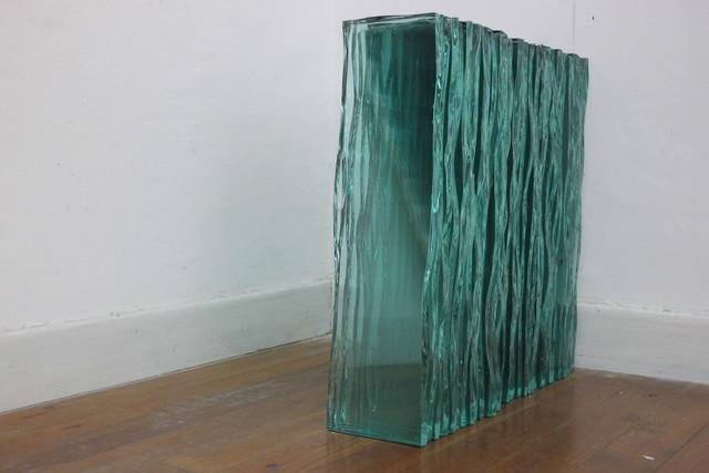, 'El vidrio siempre está en movimiento,' 2015, MCHG - María Casado