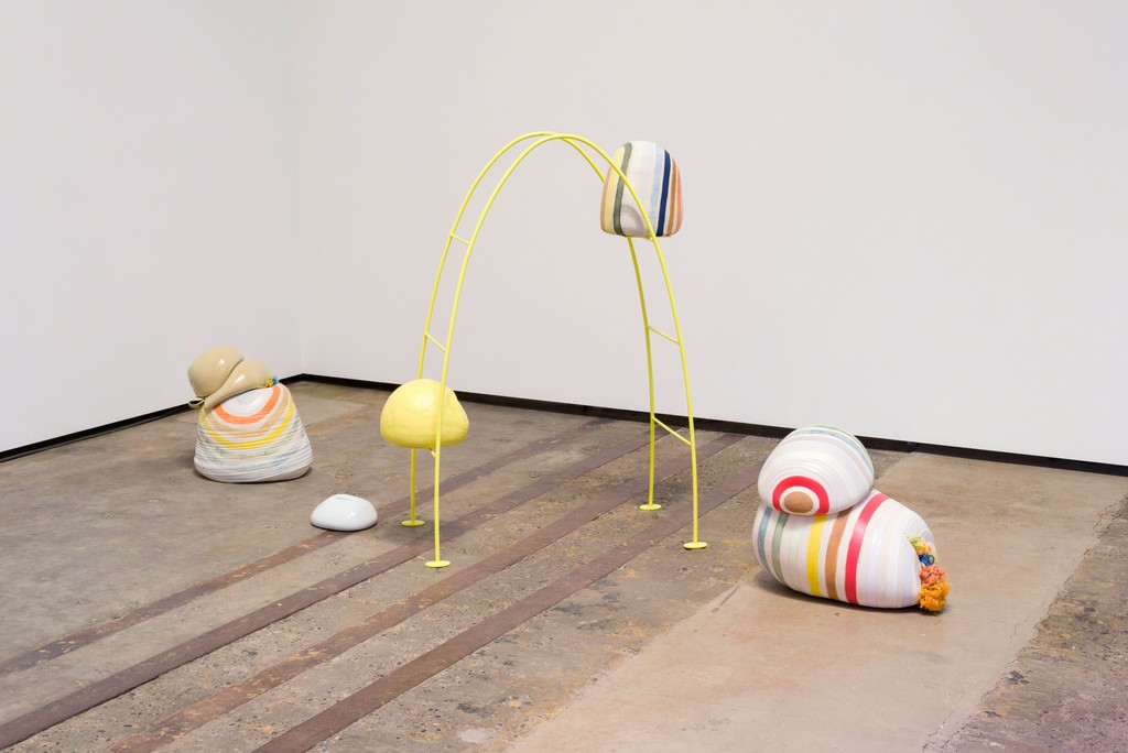 Gailan Ngan, installation view