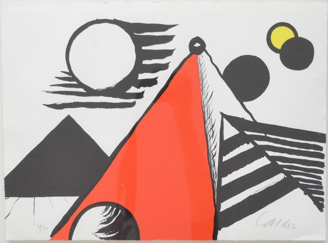 Alexander Calder, 'Pyramid Rouge', 1969, Long-Sharp Gallery