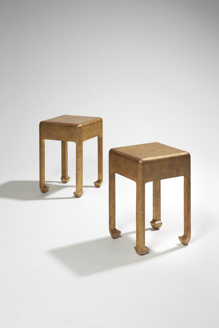 , 'Pair of Side Tables,' ca. 1930, Galerie Marcilhac