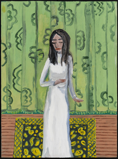 Brian Calvin, 'White Dress', 2013, Corvi-Mora