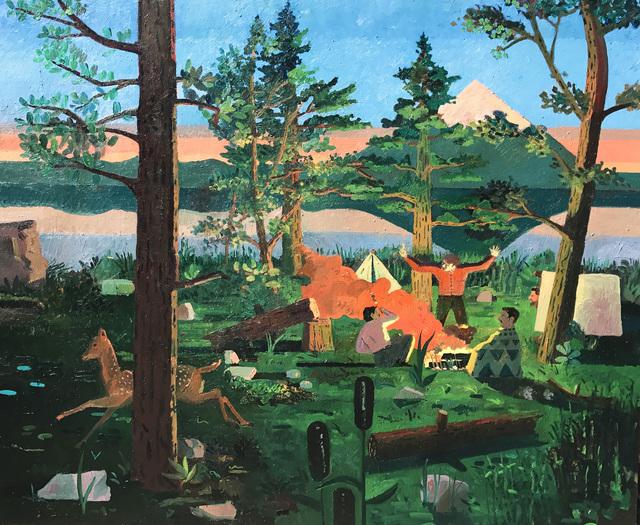 , 'Kit Karson at Lake Klamath , 47x37, $9600.00,' 2017, Visions West Contemporary
