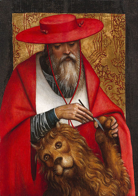 , 'St. Jerome by Defendente Ferrari,' ca. 1510, M.S. Rau Antiques