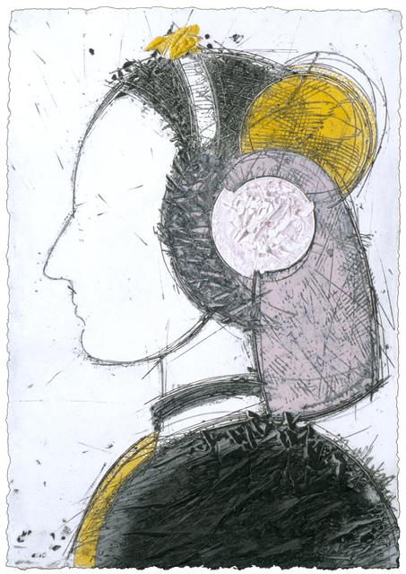 , 'Perfil IV,' 2004, Mixografia