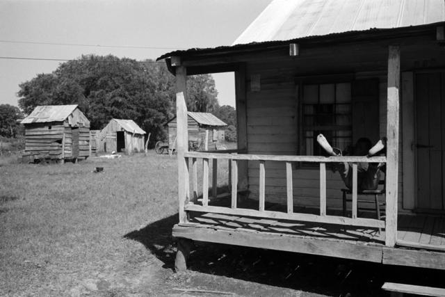 Constantine Manos, 'Untitled, Island Boy, Daufuskie Island, South Carolina (boy on porch)', 1952, Robert Klein Gallery