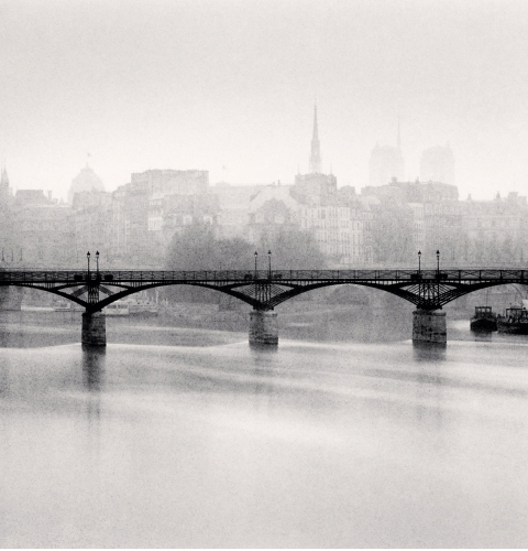 Michael Kenna, 'Pont des Arts, Study 3, Paris, France', 1987, Photography, Gelatin Silver Print, Weston Gallery