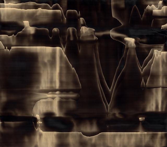 , 'Ménisque noir 01,' 2015, Galerie D'Este