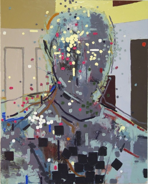 , 'Portrait in Gray,' 2002, Flow 305