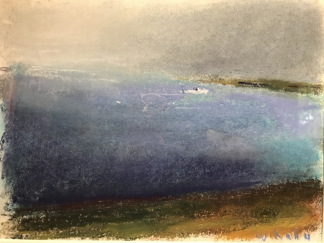 Wolf Kahn, 'Blue Shore', 1999, Private Collection, NY
