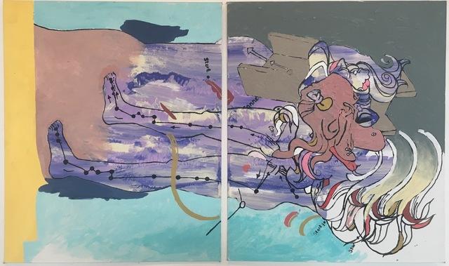 ", '""enfolding"" study 1,' 2016, Ro2 Art"