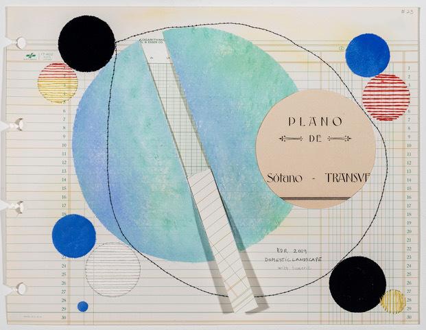 , 'Domestic Landscape with Turmeric, #23,' 2019, Travesia Cuatro