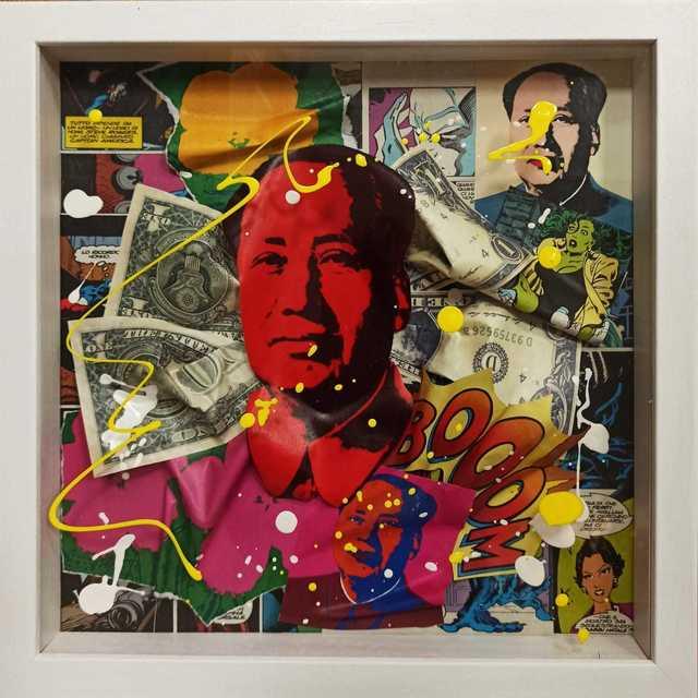 , 'Mao,' 2019, Secret Art Ltd.