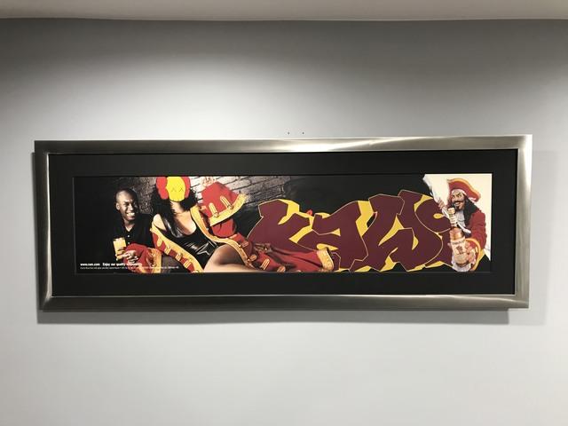 KAWS, 'Untitled (Captain Morgan Ad Disruption)', 1999, Carmichael Gallery