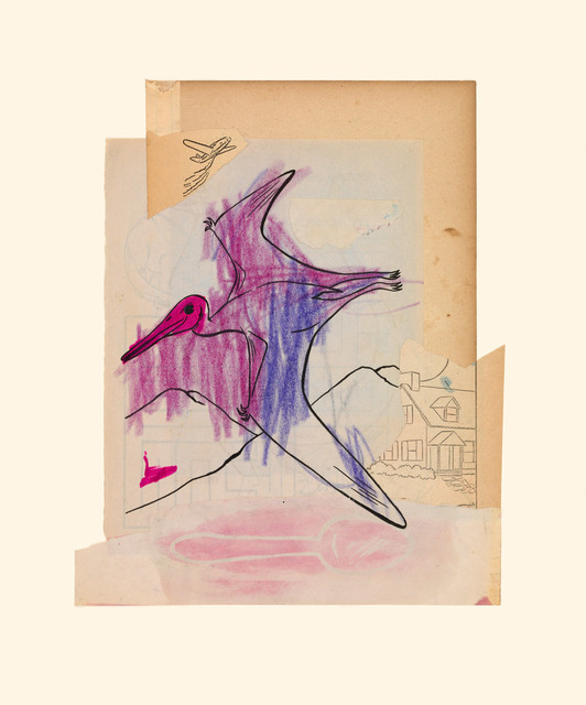, 'Purple Bird 10/2/15,' 2015, Miller Yezerski Gallery