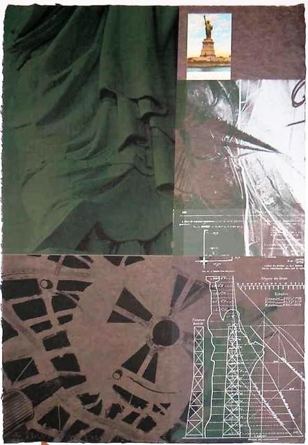 Robert Rauschenberg, 'Statue of Liberty', 1983, michael lisi / contemporary art